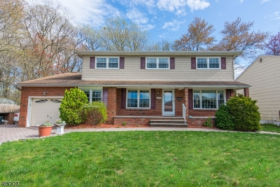 Cranford Twp. Single Family Home For Sale: 920 Orange Ave