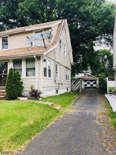 Hillside Twp. Single Family Home For Sale: 253 Dorer Ave