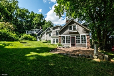 South Orange Village Twp. Single Family Home For Sale: 167 N Ridgewood Rd