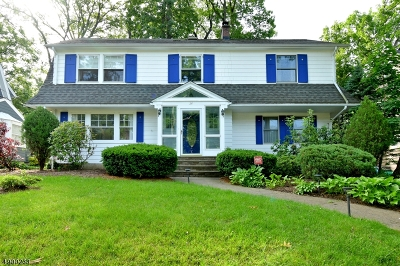 Maplewood Twp. Single Family Home For Sale: 34 Kendal Ave