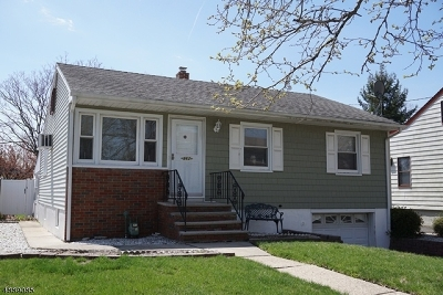 Rahway, Rahway City Single Family Home For Sale: 862 Ross St