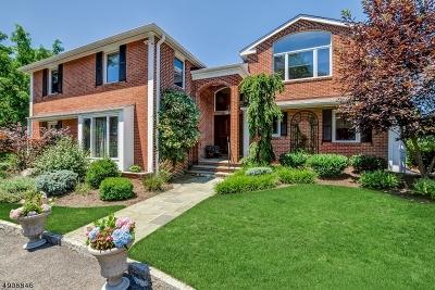 Millburn Twp. Single Family Home For Sale: 354 Hartshorn Dr