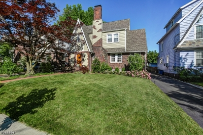 Maplewood Twp. Single Family Home For Sale: 14 Colgate Rd