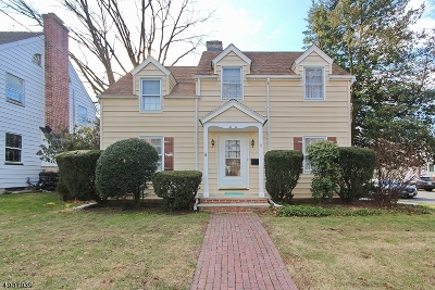 Cranford Twp. Single Family Home For Sale: 11 Craig Pl