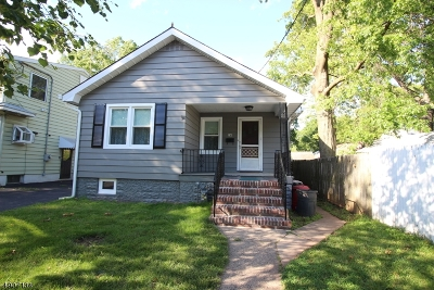 Rahway, Rahway City Single Family Home For Sale: 261 Wilson Ave