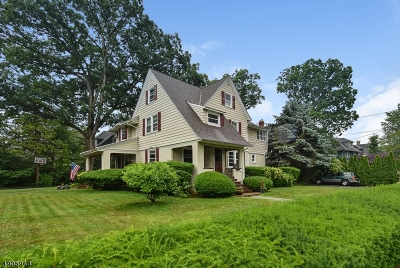 Essex County, Morris County, Union County Multi Family Home For Sale: 317 N Fullerton Ave
