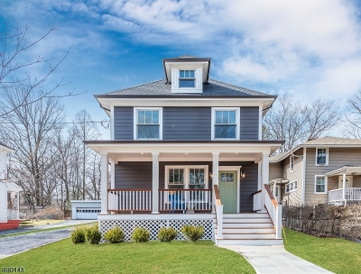 Millburn Twp. Single Family Home For Sale: 99 Myrtle Ave