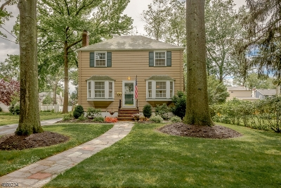 Cranford Twp. Single Family Home For Sale: 1 Franklin Ave
