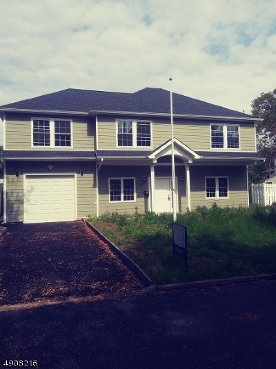 Rahway, Rahway City Single Family Home For Sale: 1063 Plymouth Dr