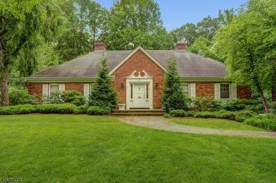 Millburn Twp. Single Family Home For Sale: 37 Seminole Way