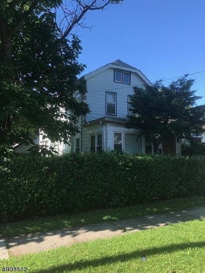Rahway, Rahway City Single Family Home For Sale: 359 Washington St