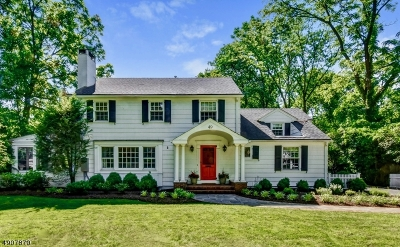 Millburn Twp. Single Family Home For Sale: 49 Lakeview Avenue