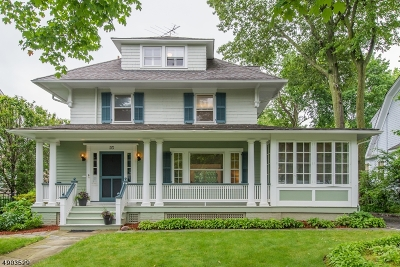 Montclair Twp. Single Family Home For Sale: 23 Glenwood Rd