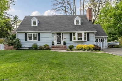 Scotch Plains Twp. Single Family Home For Sale: 1913 Stony Brook Cir