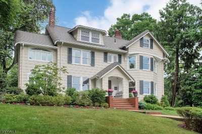 Montclair Twp. Single Family Home For Sale: 124 N Mountain Ave