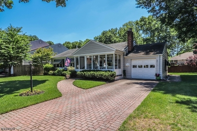 Rahway City Single Family Home For Sale: 870 Crescent Dr