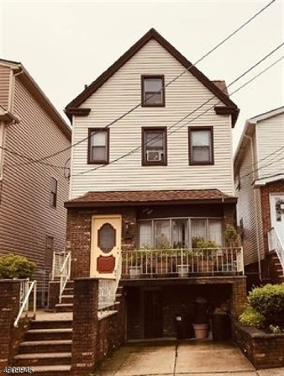 Bayonne City Multi Family Home For Sale: 38 W 50th St