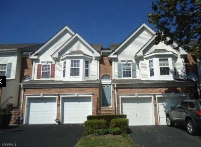 Nutley Twp. Condo/Townhouse For Sale: 315 Winthrop Dr