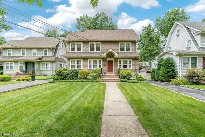 Maplewood Twp. Single Family Home For Sale: 469 Baldwin Rd