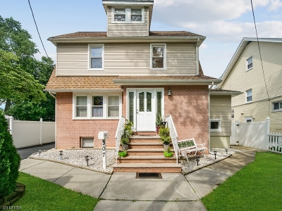 Roselle Park Boro Single Family Home For Sale: 307 Sheridan Ave.