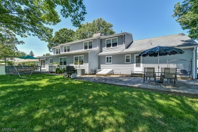 New Providence Boro Single Family Home For Sale: 75 Marion Ave