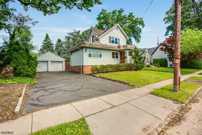 Cranford Twp. Single Family Home For Sale: 4 Retford Ave