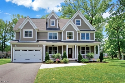 Fanwood Boro Single Family Home For Sale: 67 Westfield Rd