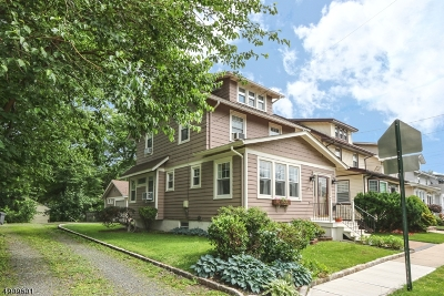 Maplewood Twp. Single Family Home For Sale: 20 Hudson Ave