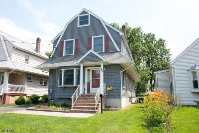 Cranford Twp. Single Family Home For Sale: 29 John St