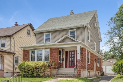 Union Twp. Single Family Home For Sale: 958 Carteret Ave