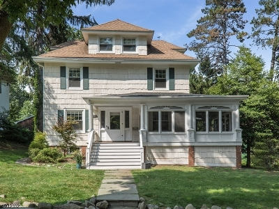 South Orange Village Twp. Single Family Home For Sale: 373 Melrose Pl