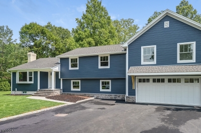 Scotch Plains Twp. Single Family Home For Sale: 44 Fieldcrest Dr