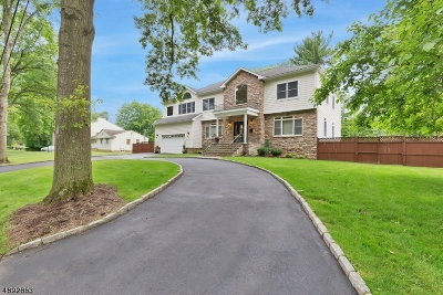 Scotch Plains Twp. Single Family Home For Sale: 2269 Redwood Rd