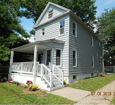 Rahway City, Rahway Single Family Home For Sale: 734 Jaques Ave