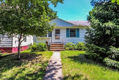 Rahway, Rahway City Single Family Home For Sale: 413 Jaques Ave