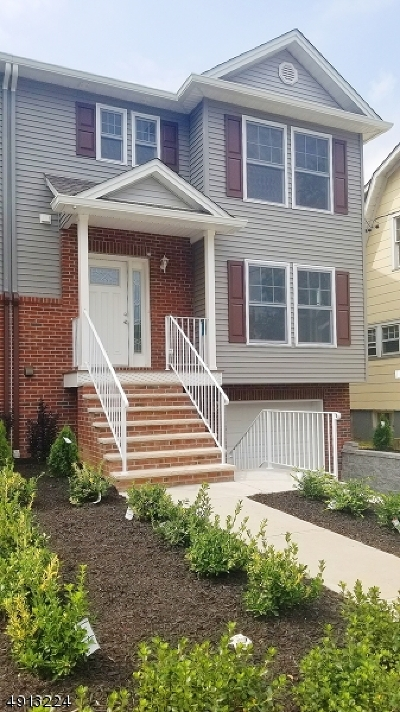 South Orange Village Twp. Condo/Townhouse For Sale: 213 Lindsley Ave