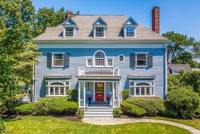Montclair Twp. Single Family Home For Sale: 77 Porter Pl