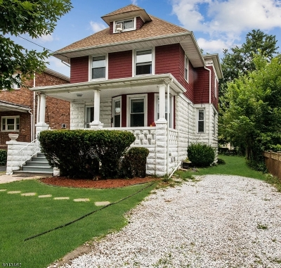 Roselle Park Boro Single Family Home For Sale: 16 E Webster Ave