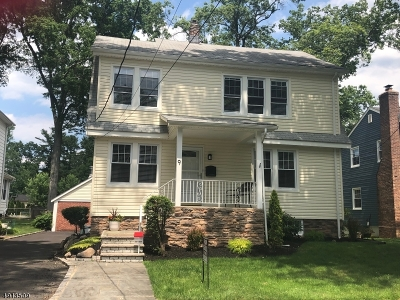 Livingston Twp. Single Family Home For Sale: 9 Wardell Rd