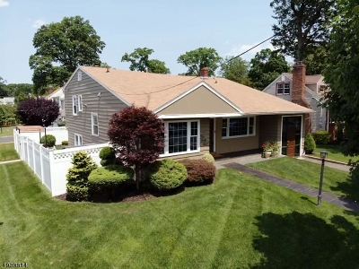 Roselle Park Boro Single Family Home For Sale: 449 Madison Ave