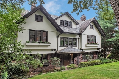 Montclair Twp. Single Family Home For Sale: 53 Lloyd Rd