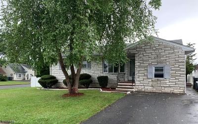 Woodbridge Twp. Single Family Home For Sale: 46 S Harrison Ave