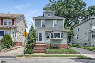 Maplewood Twp. Single Family Home For Sale: 102 Rutgers St
