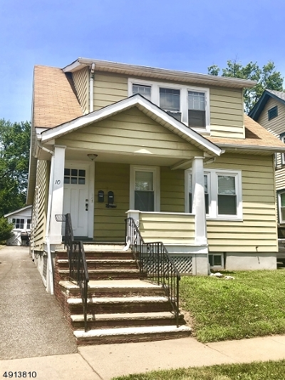 Maplewood Twp. Multi Family Home For Sale: 10 Henry Pl