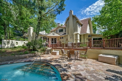 South Orange Village Twp. Single Family Home For Sale: 350 Tillou Rd