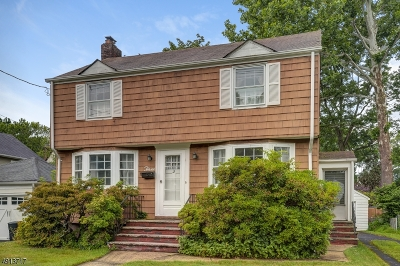 Cranford Twp. Single Family Home For Sale: 3 Herning Ave