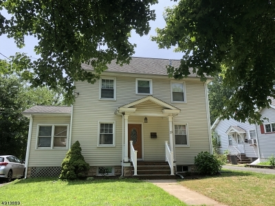 Cranford Twp. Single Family Home For Sale: 33 Elizabeth Ave