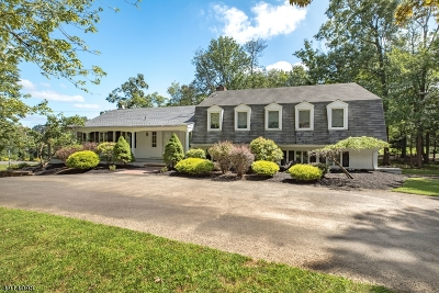 WATCHUNG Single Family Home For Sale: 185 Knollwood Dr