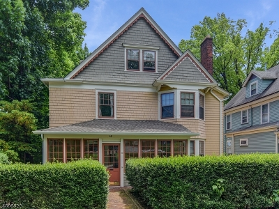 Montclair Twp. Single Family Home For Sale: 60 Gates Ave