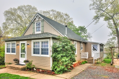 Randolph Twp. Single Family Home For Sale: 6 Woodlawn Ter